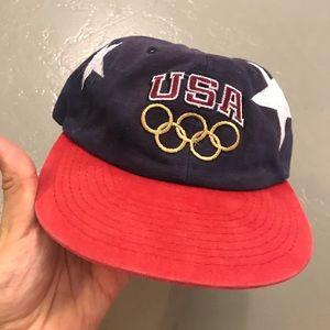 Atlanta 96 olympics champion snapback hat